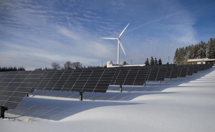 Hani Zeini explains the importance of solar panels